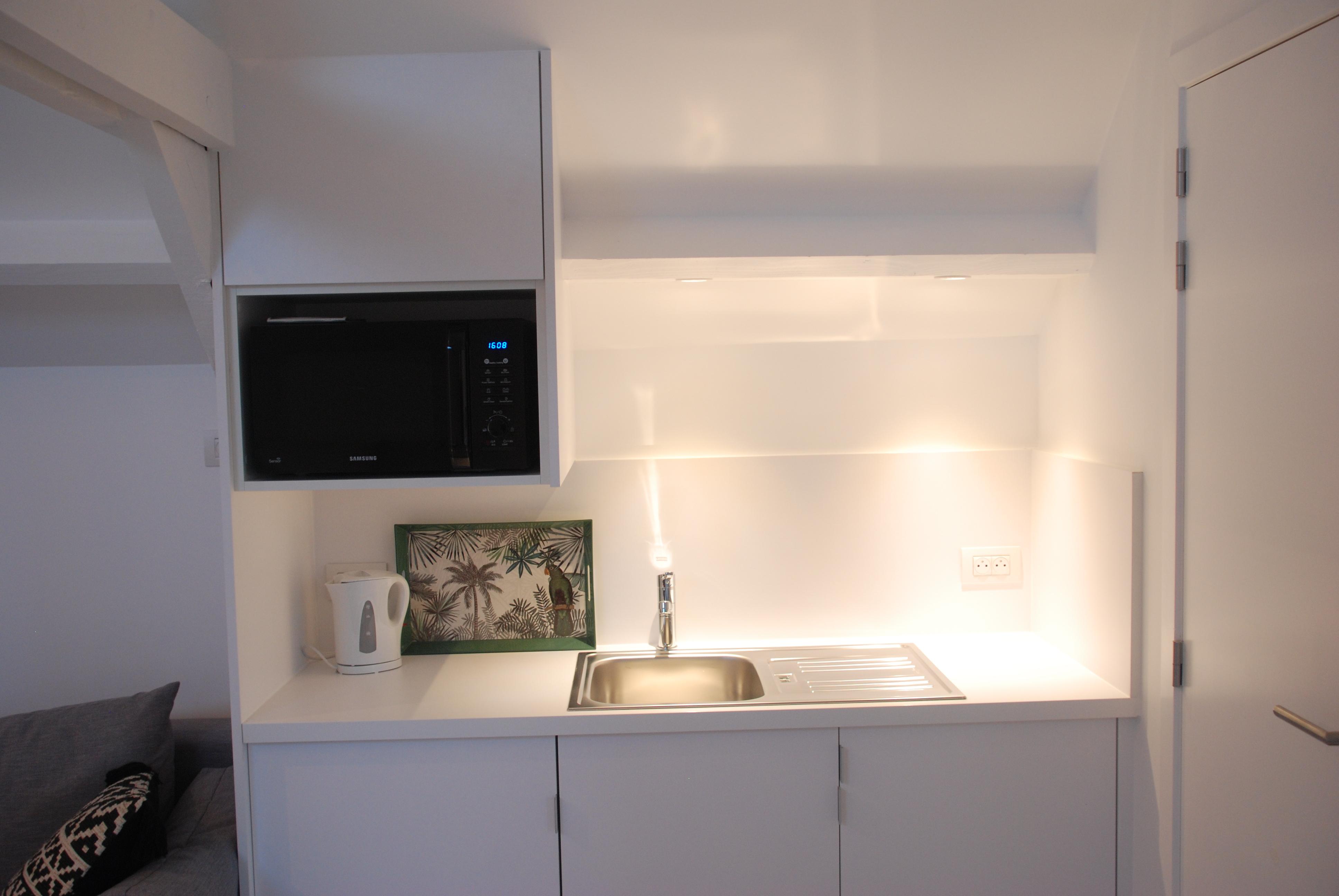 Verdiep 2 keuken studio Ibiza